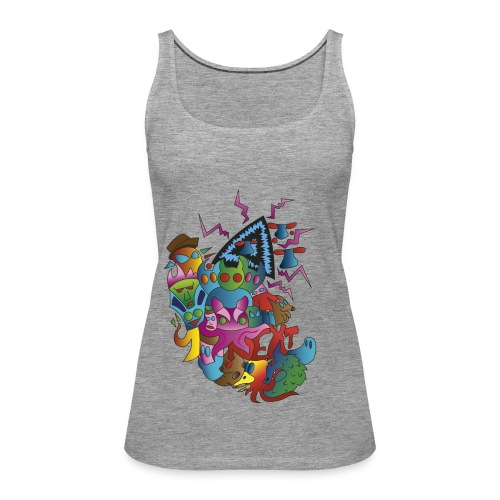 shirtdesign png - Frauen Premium Tank Top