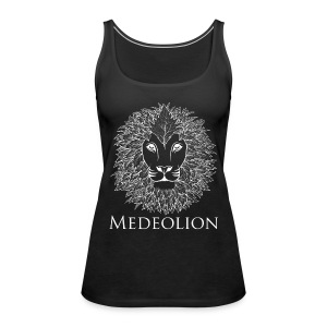 Medeolion Official White Logo - Vrouwen Premium tank top