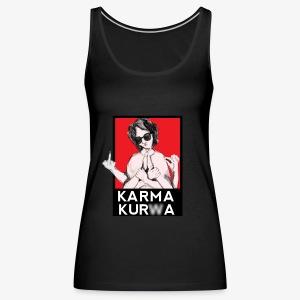 Karma kurwa - Tank top damski Premium
