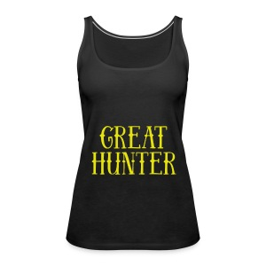 great hunter - Tank top damski Premium