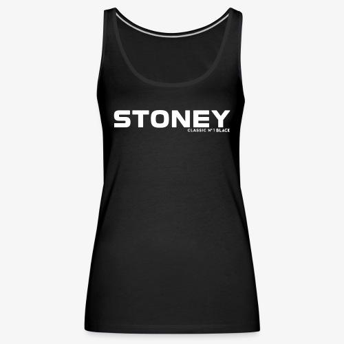 STONEY Classic No.1 BLACK - Frauen Premium Tank Top