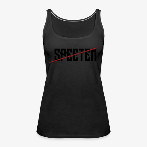Speeten EPIC text 420 epic! - Premium singlet for kvinner