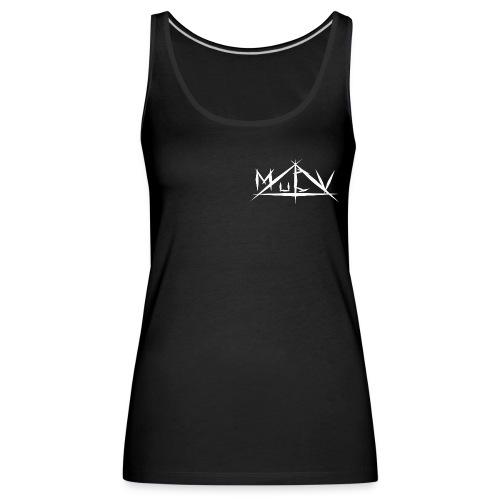 MuCV Logo SW - Frauen Premium Tank Top