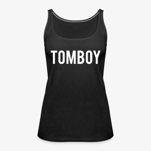 Tomboy White - Women's Premium Tank Top