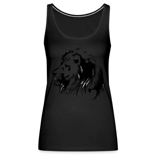 vinilo leon - Camiseta de tirantes premium mujer