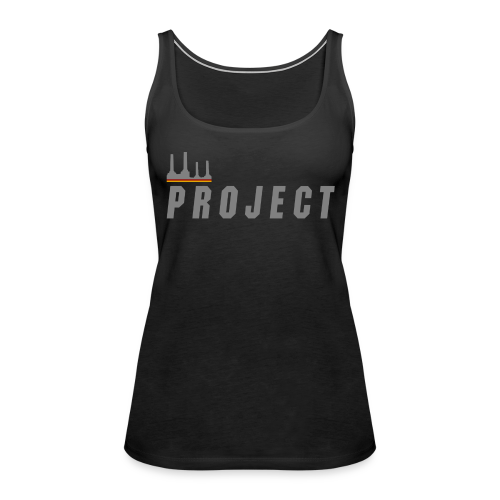 The Project, silver - Women's Premium Tank Top