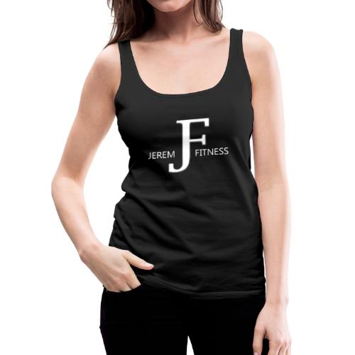 JeremFitness - Blanc - Débardeur Premium Femme