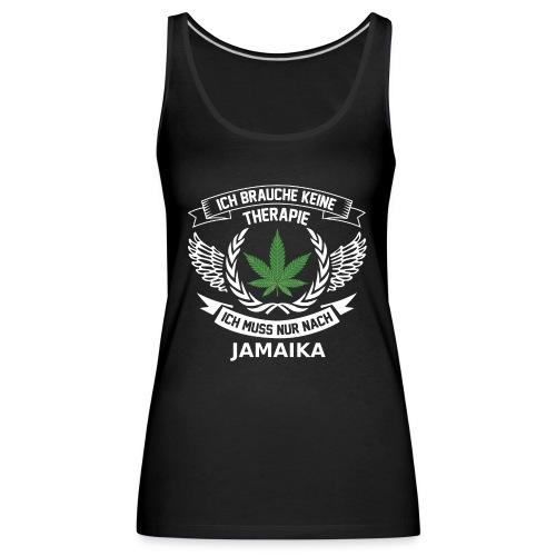 Jamaica Hanfblatt T-Shirt Urlaub - Frauen Premium Tank Top