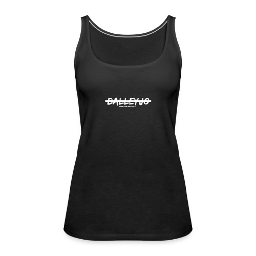 Balleyjo Logo white - Frauen Premium Tank Top