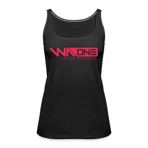 Official We Are One Digital Design - Women's Premium Tank Top