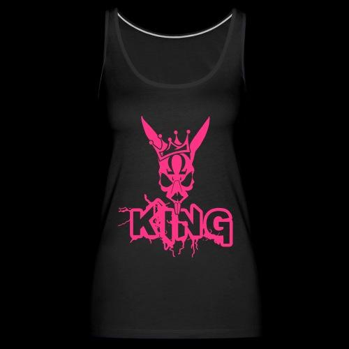 King Rabbit - Canotta premium da donna