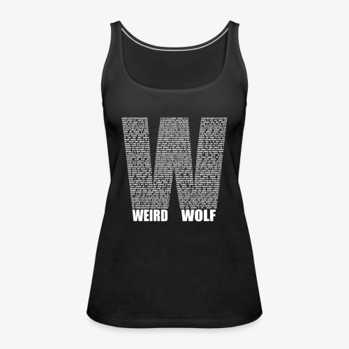 The Big W (White) - Women's Premium Tank Top