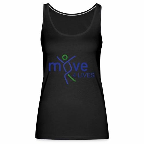 Move4Lives - Frauen Premium Tank Top