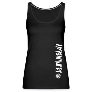 Jebus Adventures Vertical Stripe - Women's Premium Tank Top