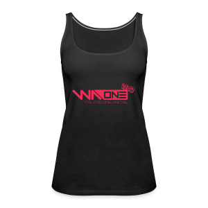 Official We Are One Digital Radio Design - Women's Premium Tank Top
