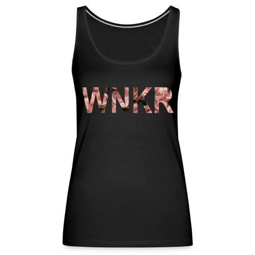 flowersWNKR - Vrouwen Premium tank top