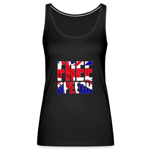 Free Speech UK Alt.1 - Women's Premium Tank Top