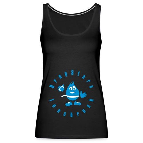 Logo DropStars Innsbruck Droppy - Frauen Premium Tank Top
