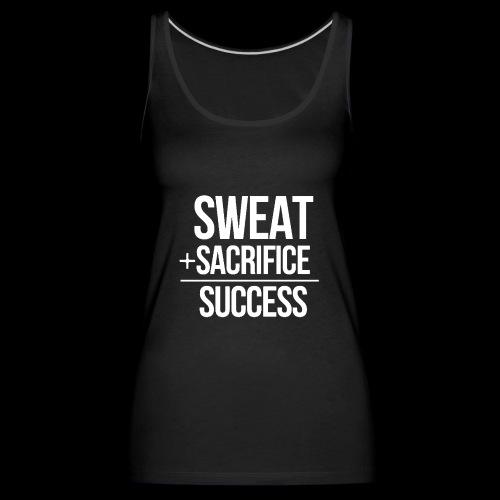 Erfolg Motivation Fitness T-shirt Englisch - Frauen Premium Tank Top