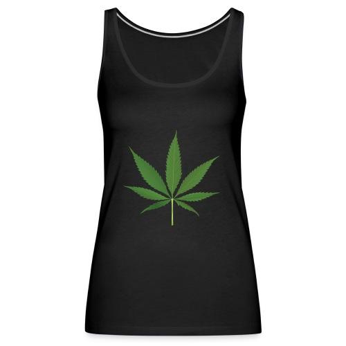 Weed - Women's Premium Tank Top