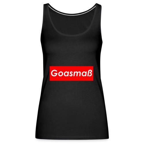 Goasmaß - Frauen Premium Tank Top