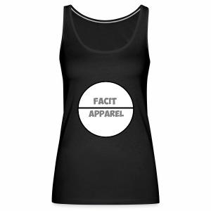 Facit Apparel - Women's Premium Tank Top
