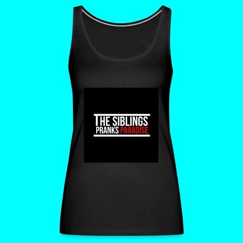 TheSiblingsPranksParadise - Women's Premium Tank Top