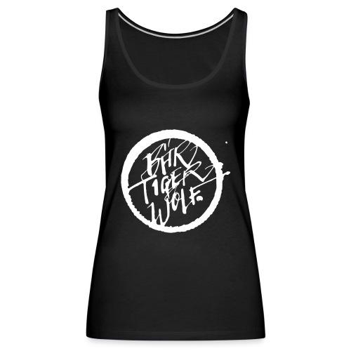 Bär Tiger Wolf Ink Type white - Frauen Premium Tank Top