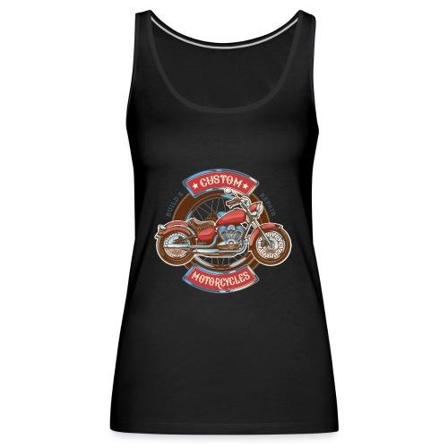 Custom Motorcycles - Camiseta de tirantes premium mujer