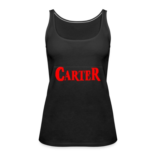 Carter merch - Women's Premium Tank Top