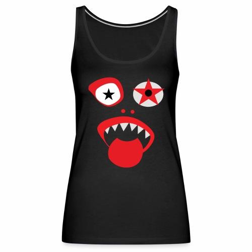 Clown Gesicht - Frauen Premium Tank Top