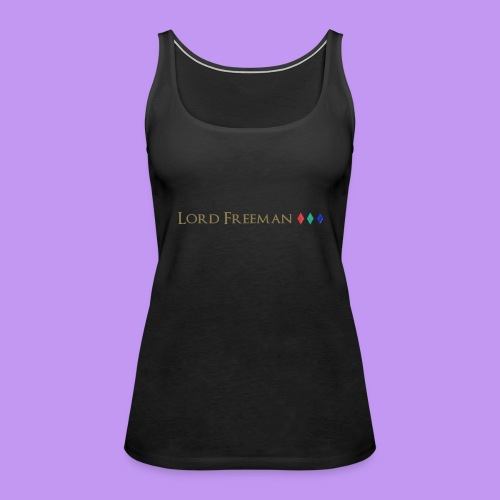 Lord Freeman Logo - Women's Premium Tank Top