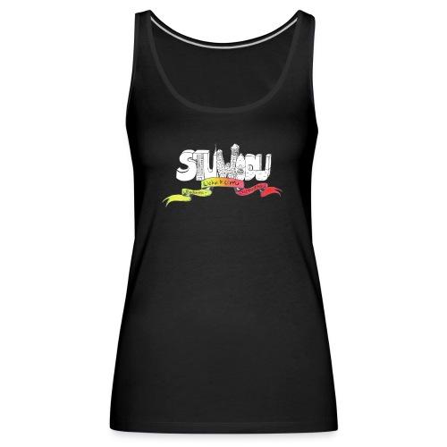 Fun StuWoDu-Logo - Frauen Premium Tank Top
