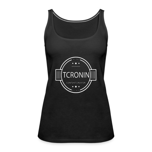 TCronin Logo - Women's Premium Tank Top