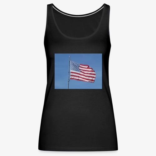 USA Flagge - Frauen Premium Tank Top