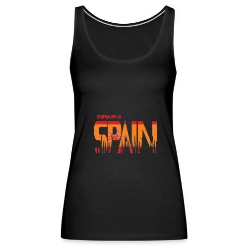SPAIN - Camiseta de tirantes premium mujer