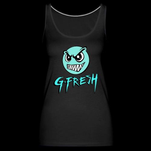 G-Fresh logo - Vrouwen Premium tank top