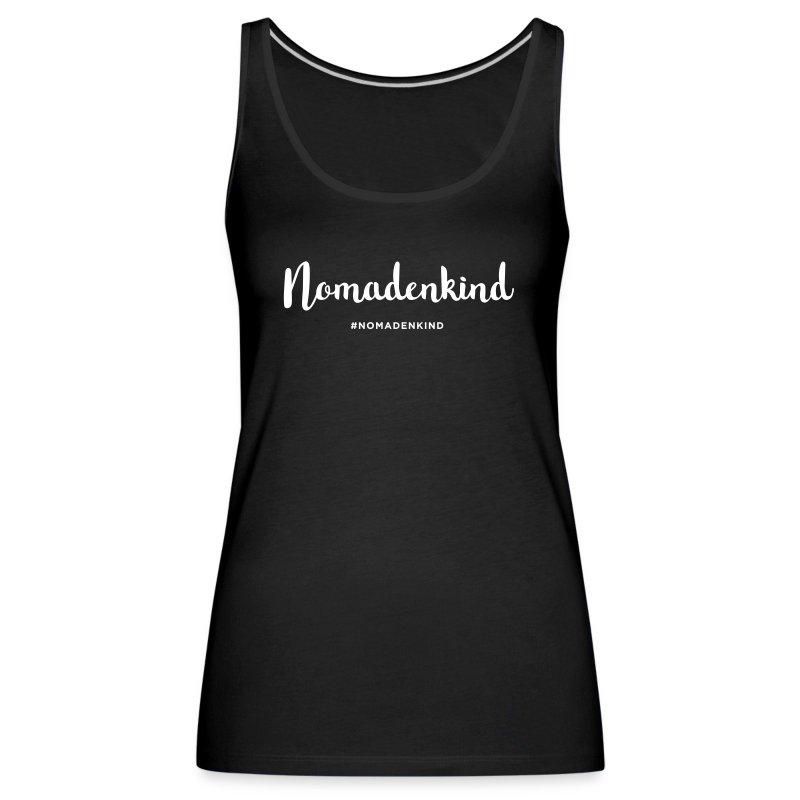 Nomadenkind by Solonomade - Frauen Premium Tank Top