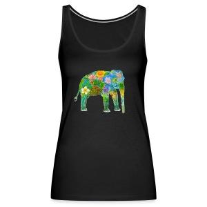Asiatischer Elefant - Frauen Premium Tank Top