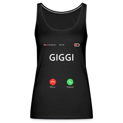 gigi call - Canotta premium da donna
