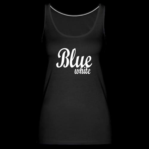 Blue White - Women's Premium Tank Top