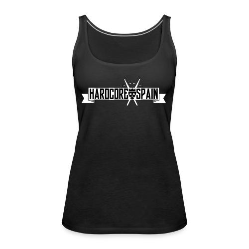 HardcoreSpain Logo - Camiseta de tirantes premium mujer