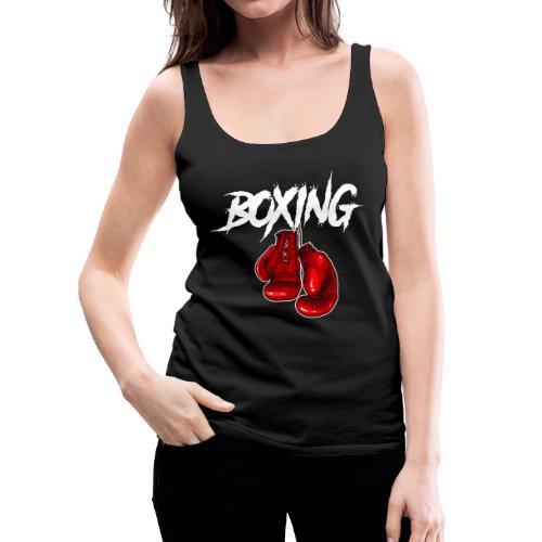 T-Shirt Boxing - Frauen Premium Tank Top