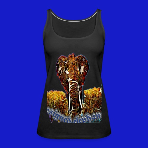 Designed elephant 🐘 - Women's Premium Tank Top