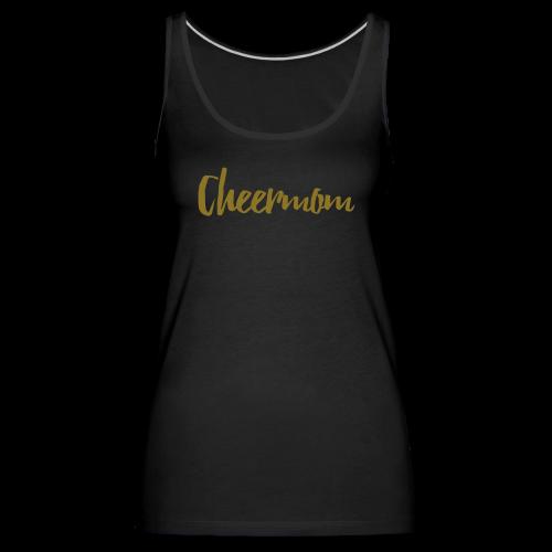 Cheermom Handlettering - Frauen Premium Tank Top