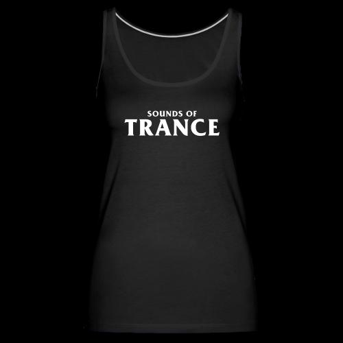 Sound Of Trance - Women's Premium Tank Top