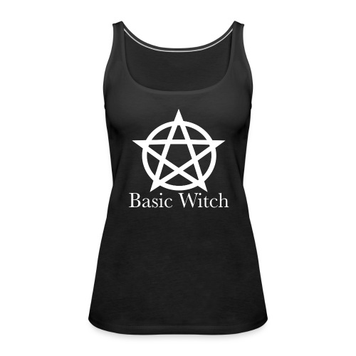 Basic Witch - Women's Premium Tank Top