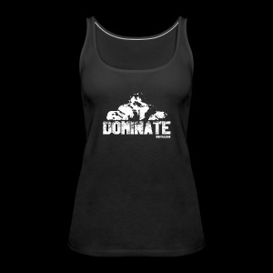 Official Dominate Logo - Frauen Premium Tank Top