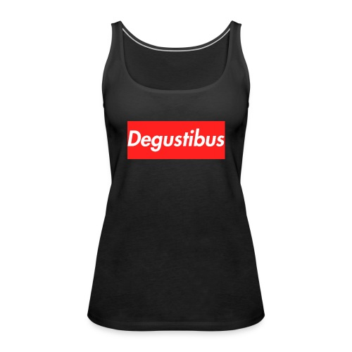 degustibus - Canotta premium da donna