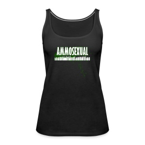Ammosexual Multi-Caliber (white) - Frauen Premium Tank Top